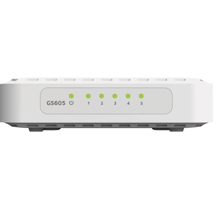 5-Port 10/100/1000 Mbps Gigabit Ethernet Switch
